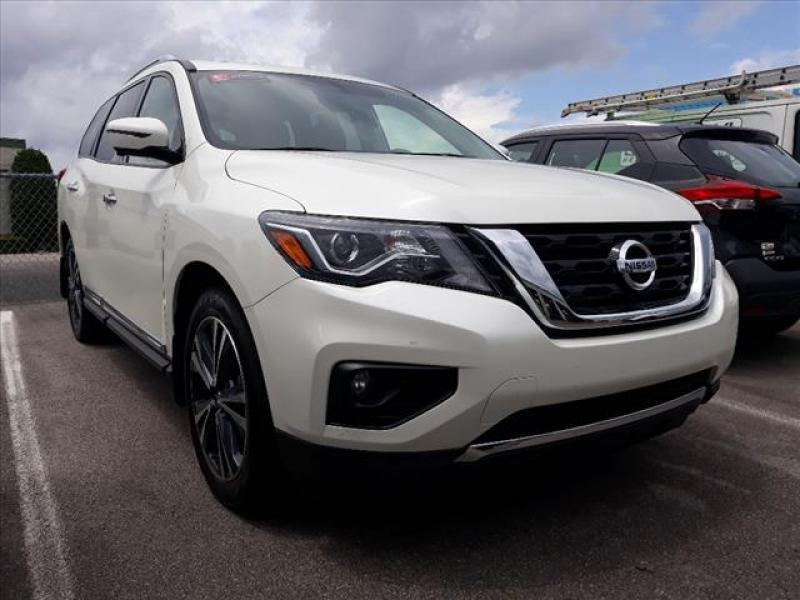 2019 Nissan Pathfinder Platinum Knoxville TN