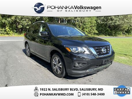 2019_Nissan_Pathfinder_S_ Salisbury MD