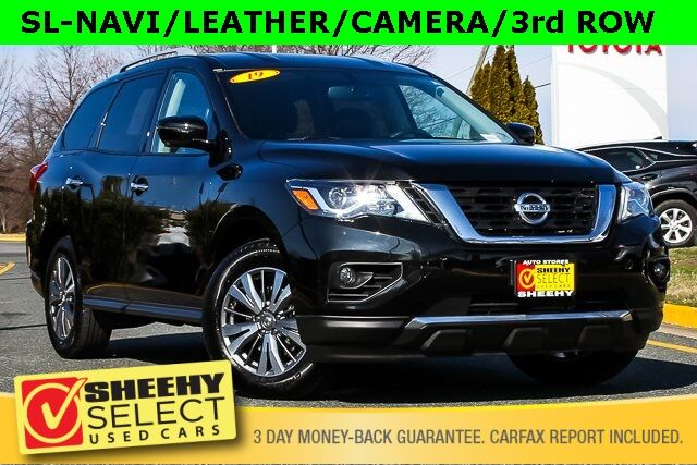 Used 2019 Nissan Pathfinder Sl Navi Leather Camera 3rd Row In