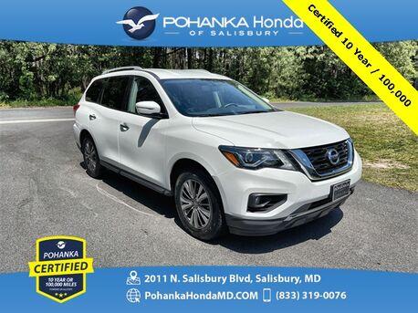 2019_Nissan_Pathfinder_SV ** Pohanka Certified 10 Year / 100,000 **_ Salisbury MD
