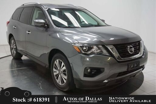 2019_Nissan_Pathfinder_SV CAM,PARK ASST,BLIND SPOT,18IN WLS,3RD ROW_ Plano TX
