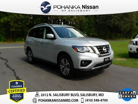 2019_Nissan_Pathfinder_SV Pohanka Certified_ Salisbury MD