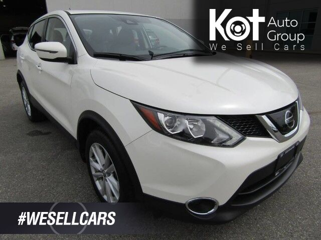 2019 Nissan QASHQAI SV! AWD! SAVE THOUSANDS FROM NEW! BACKUP CAM! BLUETOOTH! HEATED SEATS! NO ACCIDENTS! Kelowna BC