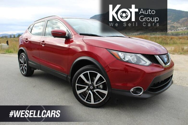 2019 Nissan Qashqai SL, NO ACCIDENTS, Low Km's Kelowna BC