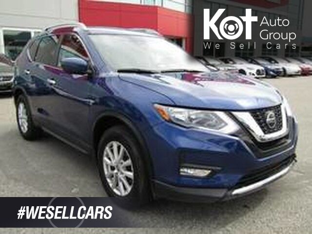 2019 Nissan ROGUE SV! AWD! SAVE THOUSANDS FROM NEW! BACKUP CAM! BLUETOOTH! HEATED SEATS! BEAUTY UNIT! Penticton BC