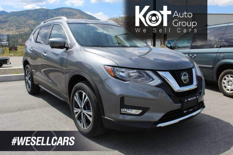 2019 Nissan Rogue AWD SV, TECH PACKAGE, SUNROOF, NAVIGATION Penticton BC