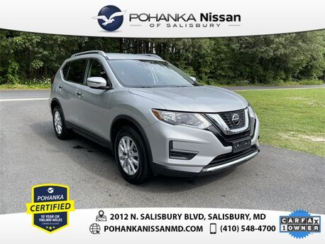 2019_Nissan_Rogue_S Nissan Certified Pre-Owned_ Salisbury MD