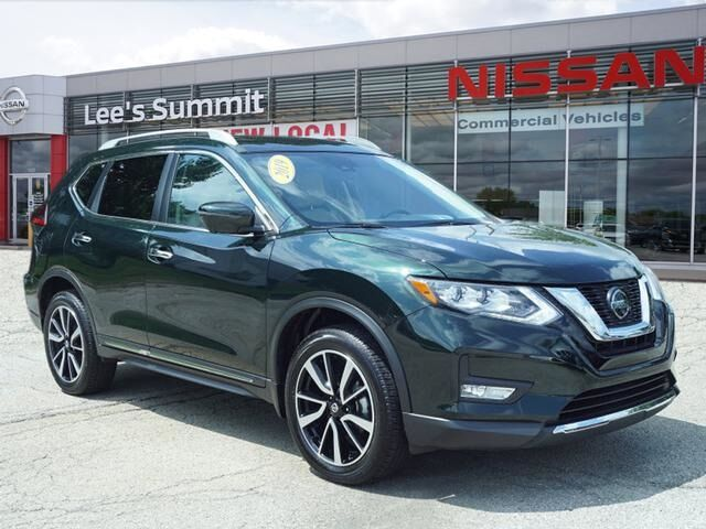 2019 Nissan Rogue SL CERTIFIED--PLATINUM PACKAGE Lee's Summit MO