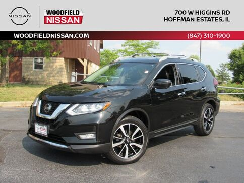 2019_Nissan_Rogue_SL_ Hoffman Estates IL