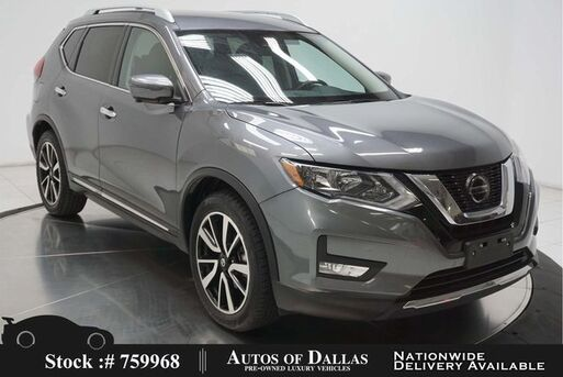 2019_Nissan_Rogue_SL NAV,CAM,HTD STS,BLIND SPOT,19IN WHLS_ Plano TX