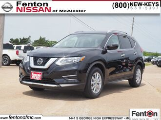2019_Nissan_Rogue_SV_ McAlester OK