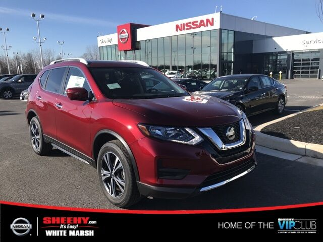 2019 Nissan Rogue SV 4D Sport Utility White Marsh MD