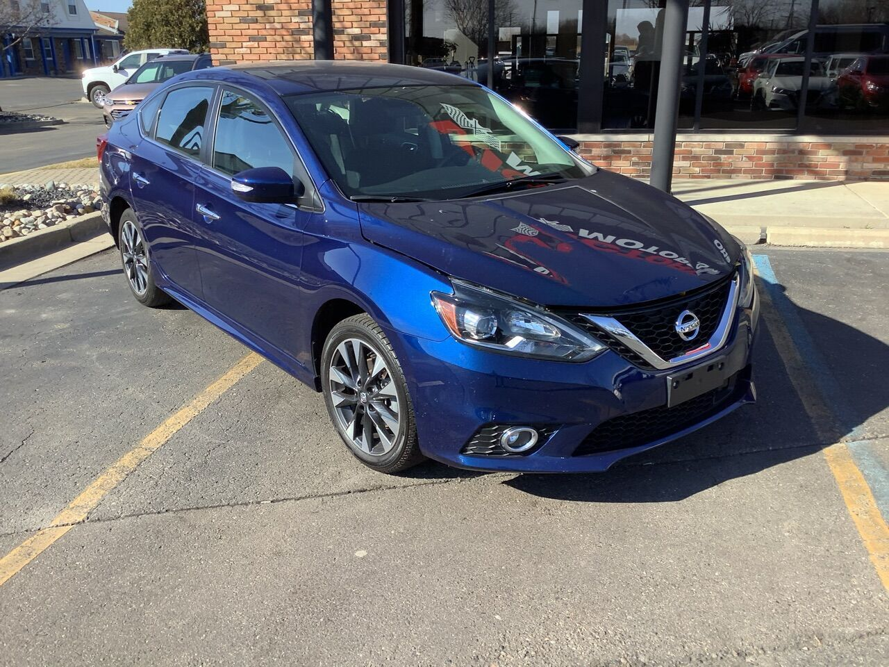 2019 Nissan Sentra SR 4dr Sedan Chesterfield MI