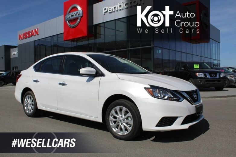 2019 Nissan Sentra SV DEMO CLEAROUT, Includes Winter Tire Pacakge Penticton BC