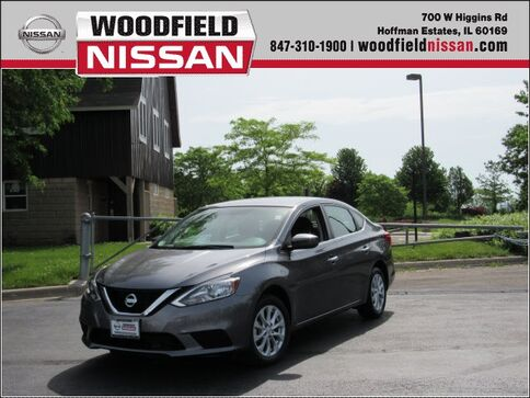 2019_Nissan_Sentra_SV_ Hoffman Estates IL