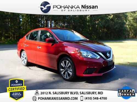 2019_Nissan_Sentra_SV Pohanka Certified_ Salisbury MD