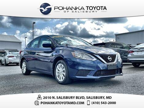 2019_Nissan_Sentra_SV_ Salisbury MD
