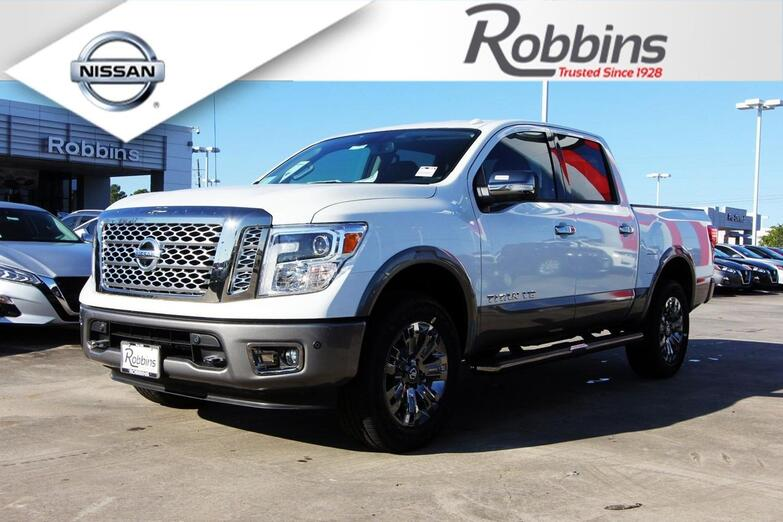2019 Nissan Titan Platinum Reserve Houston TX