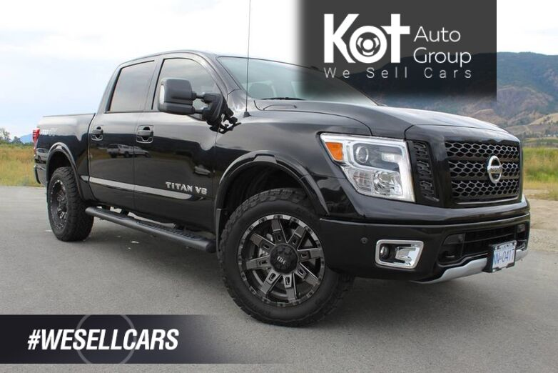 2019 Nissan Titan Pro-4X Luxury Incldues Wheel Package - DEMO BLOWOUT Kelowna BC