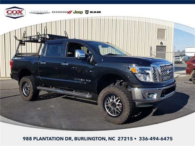 2019 Nissan Titan SL 4x4 Crew Cab 5.6 ft. box 139.8 in. WB Burlington NC