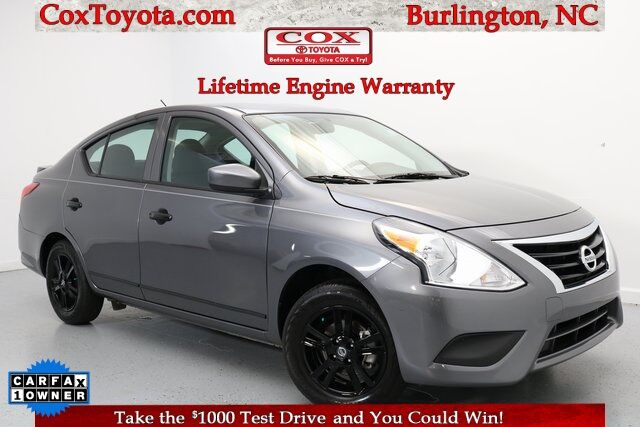 2019 Nissan Versa 1.6 S Plus Burlington NC