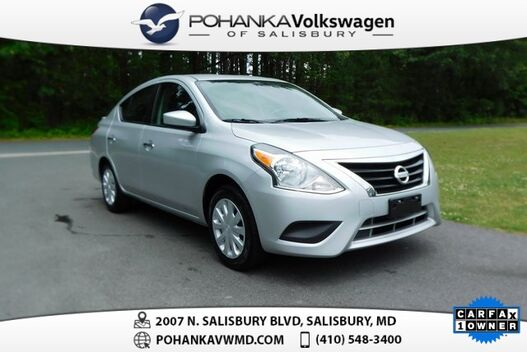 2019_Nissan_Versa_1.6 SV ** ONE OWNER ** 39+ MPG **_ Salisbury MD