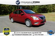 2019 Nissan Versa 1.6 SV **ONE OWNER**