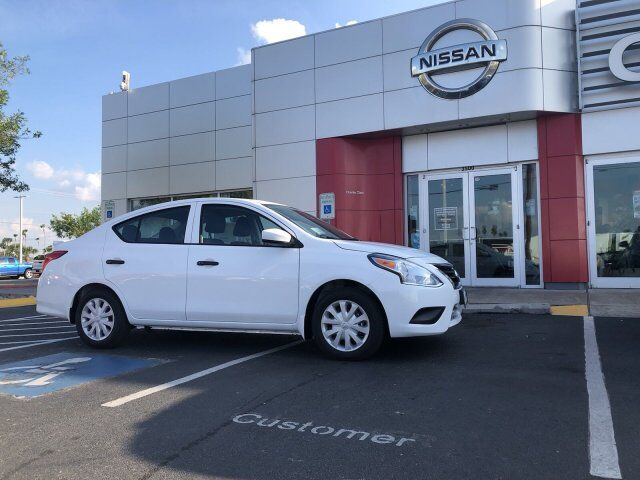 2019 Nissan Versa Sedan S Plus Harlingen TX 26751169