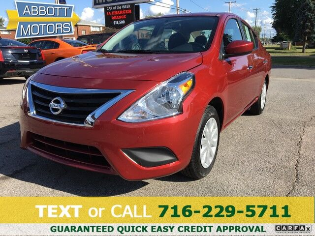 2019 Nissan Versa Sedan SV w/Back-Up Camera & Low Miles Buffalo NY