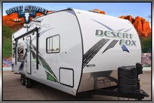 2019 Northwood Desert Fox 27FS Toy Hauler Travel Trailer