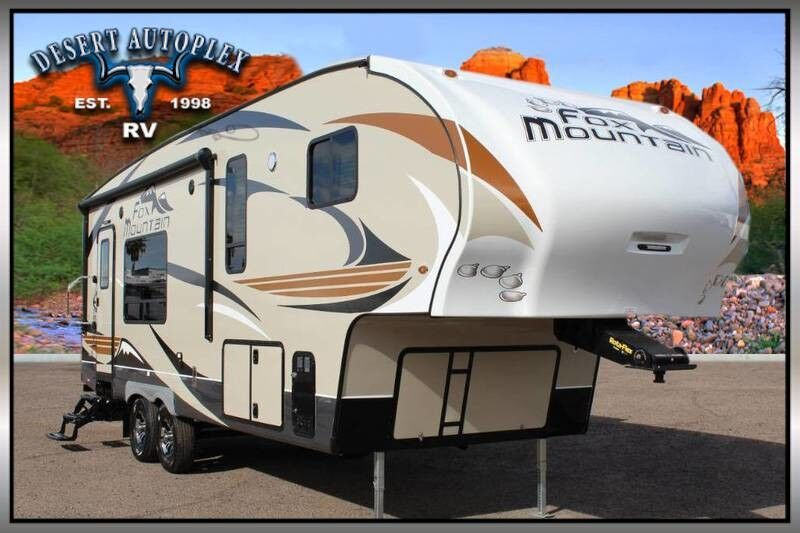 2019 Northwood Fox Mountain 255RKS Single Slide Fifth Wheel RV Mesa AZ