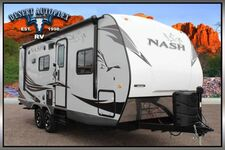 2019 Northwood Nash 23D Single Slide Travel Trailer