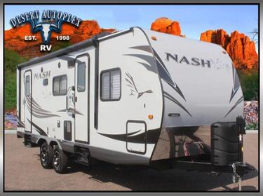 Northwood Nash 25C Single Slide Travel Trailer RV Mesa AZ