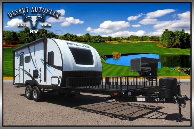 2019 Palomino Real-Lite 177 ORV Cargo Rack Travel Trailer Mesa AZ