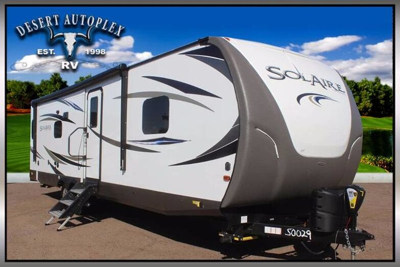 2019 Palomino Solaire 316RLTS-W Triple Slide Travel Trailer Mesa AZ