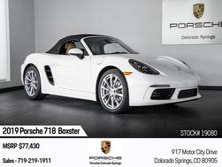 Porsche 718 Boxster 718 Boxster 2019