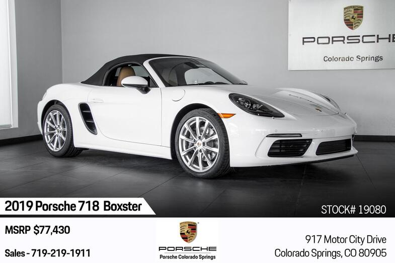 2019 Porsche 718 Boxster 718 Boxster Colorado Springs CO