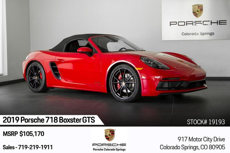 2019 Porsche 718 Boxster Boxster GTS Colorado Springs CO