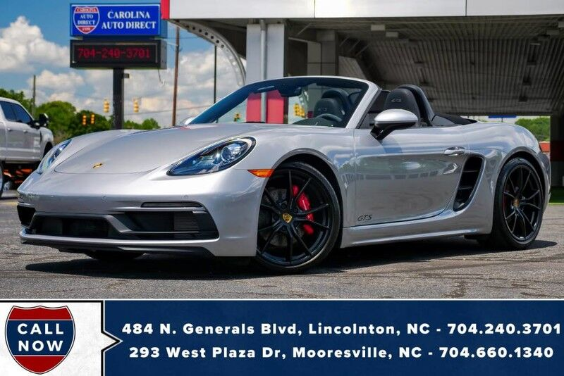 2019 Porsche 718 Boxster GTS **PDK** w/ PASM 20mm Lowered Sport Suspension Mooresville NC