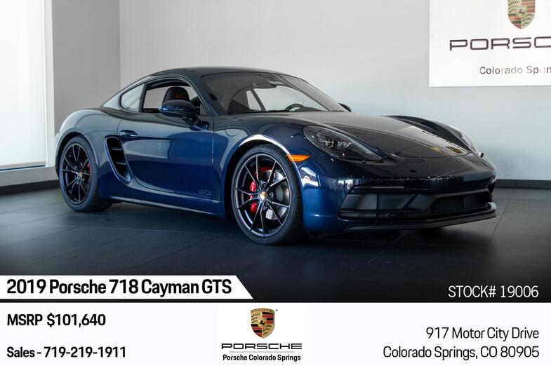 2019 Porsche 718 Cayman 718 Cayman GTS Colorado Springs CO