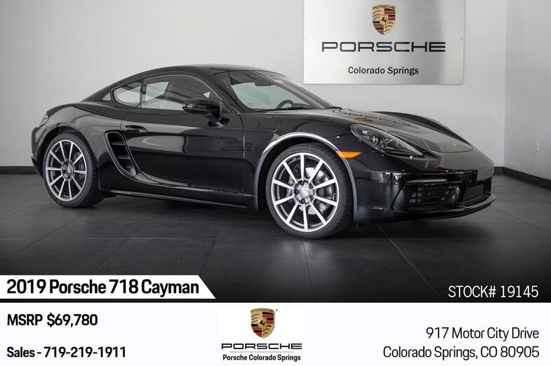 2019 Porsche 718 Cayman Cayman Colorado Springs CO