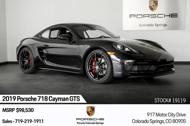 2019 Porsche 718 Cayman Cayman GTS Colorado Springs CO