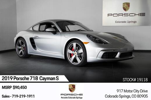 2019 Porsche 718 Cayman Cayman S Colorado Springs CO