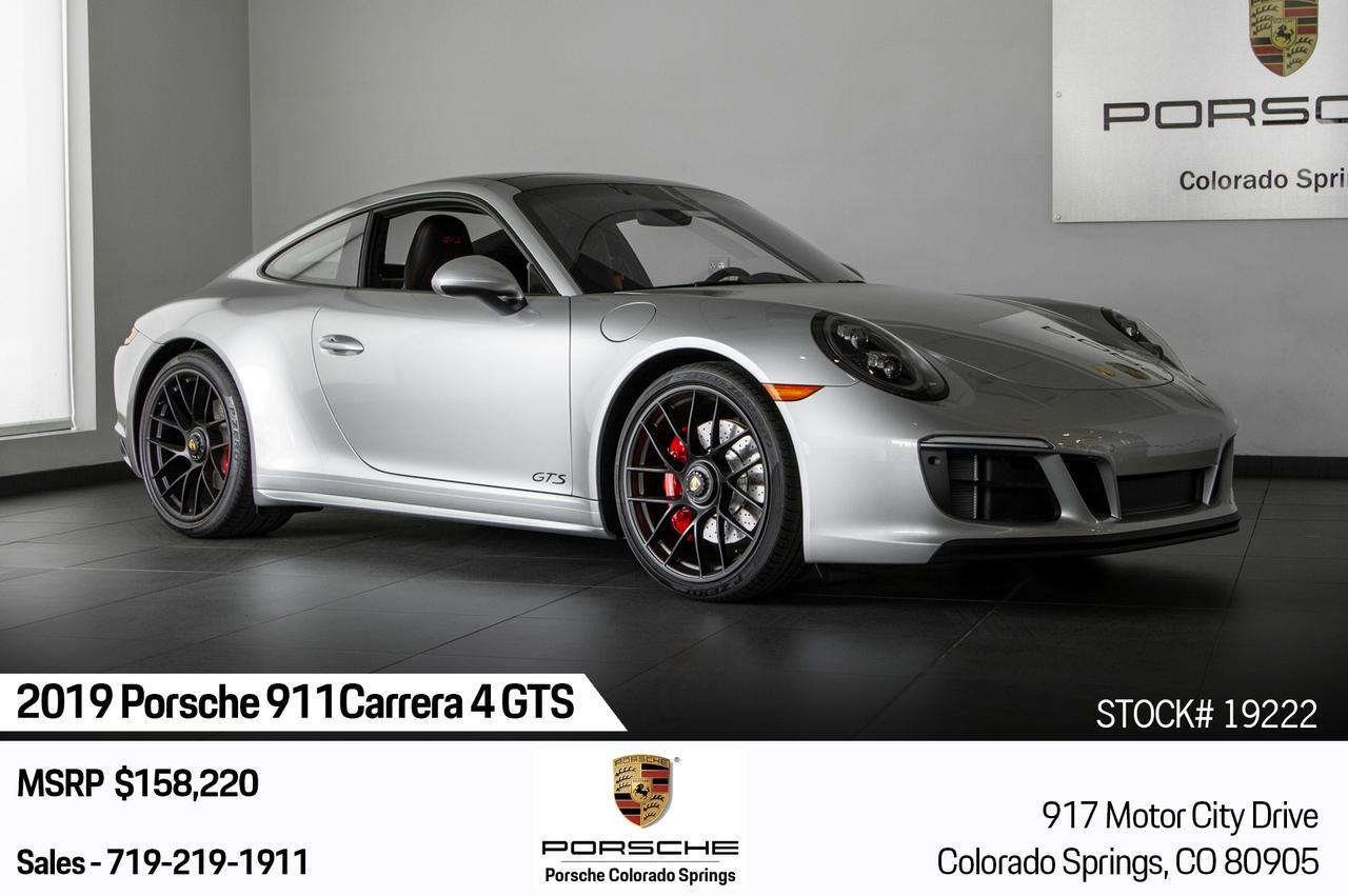 2019 Porsche 911 911 Carrera 4 GTS Colorado Springs CO