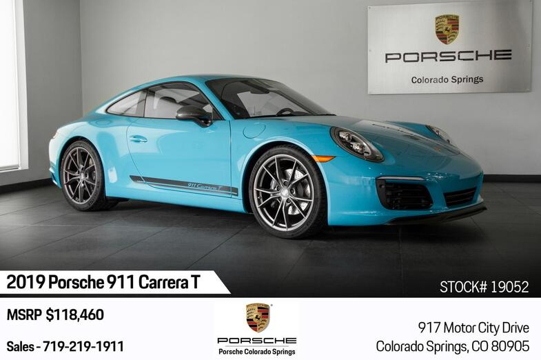 2019 Porsche 911 911 Carrera T Colorado Springs CO