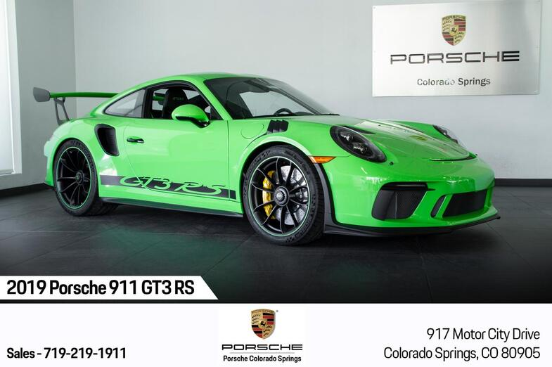 2019 Porsche 911 911 GT3 RS Colorado Springs CO