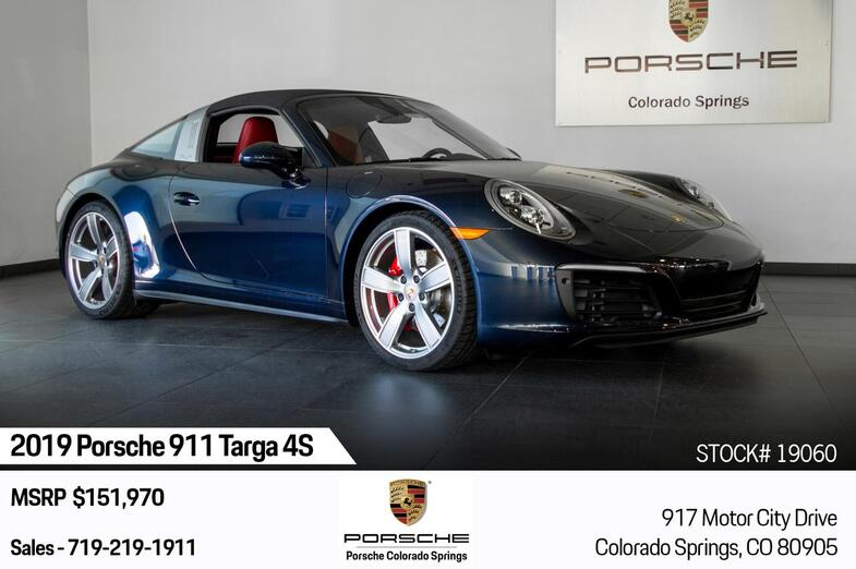 2019 Porsche 911 911 Targa 4S Colorado Springs CO