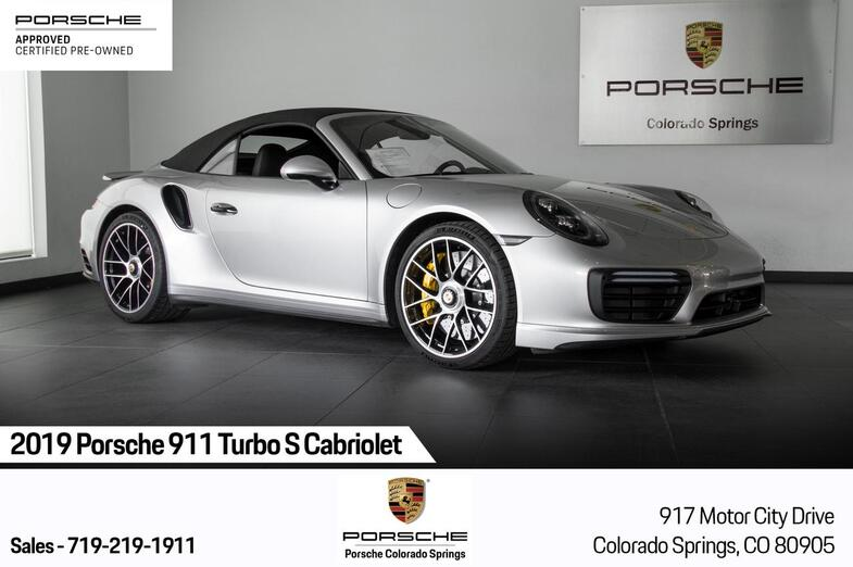2019 Porsche 911 911 Turbo S Cabriolet Colorado Springs CO