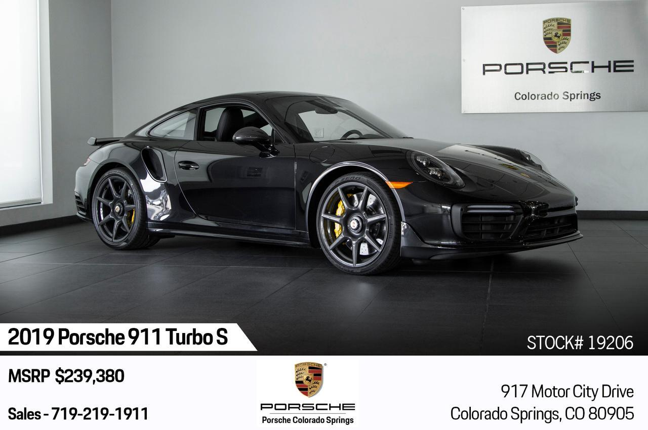 2019 Porsche 911 911 Turbo S Colorado Springs CO