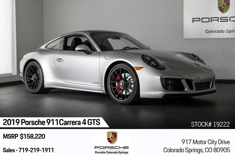 2019 Porsche 911 Carrera 4 GTS Colorado Springs CO